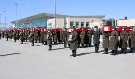 Şehit Korgeneral ve 10 Asker İçin Elazığ'da Tören