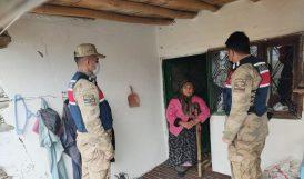 Jandarmadan Şehit Ailelerini Ziyaret