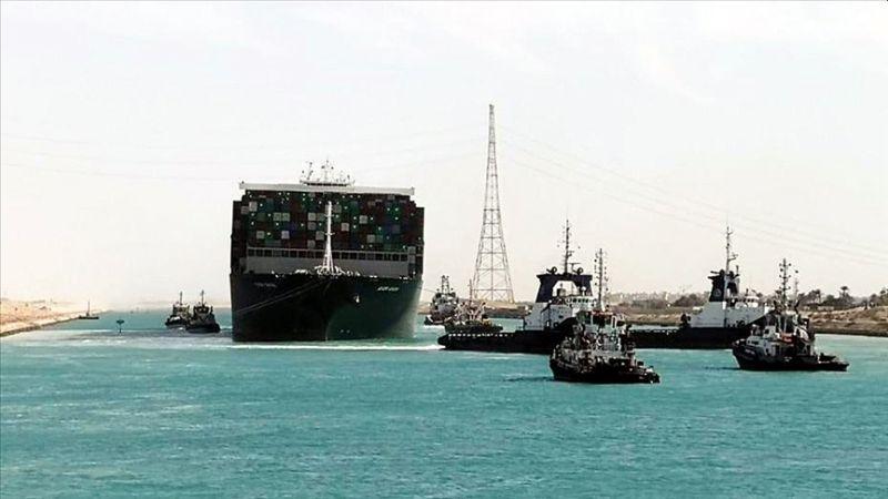 Süveyş Kanalı Yeniden Ulaşıma Açıldı