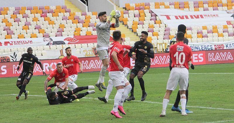 Yeni Malatya Stadında Yine 3 Puan Yok:2-2