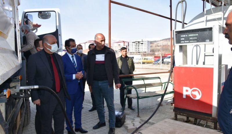 Doğanşehir'de Güvenli Akaryakıt Sistemi