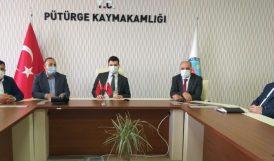 Pütürge'de Büyükçay Barajı Toplantısı