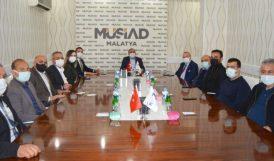 CHP Milletvekilleri MÜSİAD'ı Ziyaret Etti