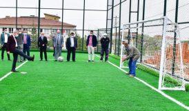 MHP İlçe Başkanından Çınar'a Övgü