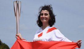 Olimpiyat Meşalesini Türk Kızı Taşıdı
