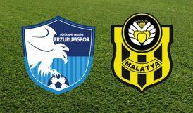 Y.Malatyaspor, Erzurumspor'la 4'üncü Kez Karşılaşacak