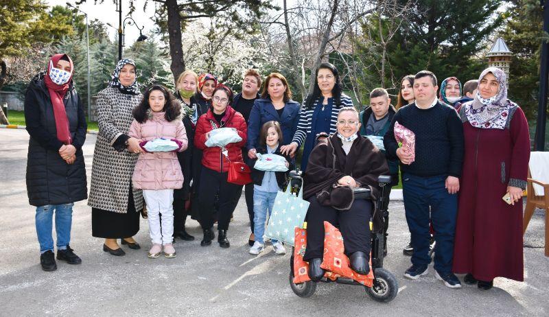 Gürkan'ın Eşi 'Park Makam'da Ağırladı