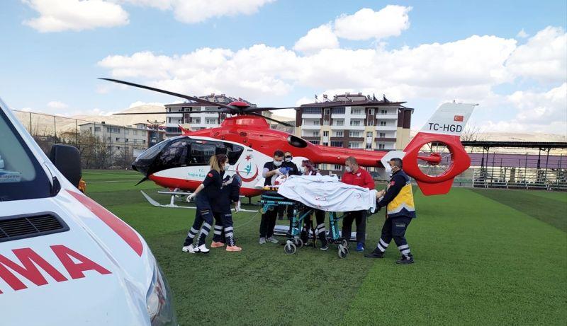 Darende'den Helikopterle TÖTM'ye Nakledildi