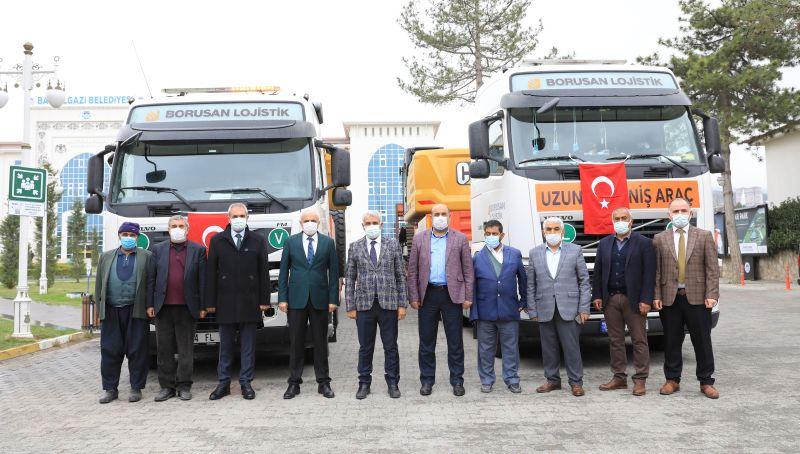Battalgazi Belediyesi Makine Parkı Güçlendi
