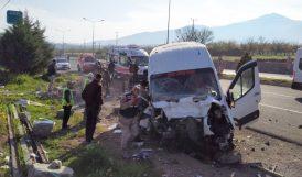Trafik Kazalarında 1 Ölü, 11 Yaralı