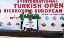Yeşilyurt Kick Boks Takımı Avrupa 3'üncüsü