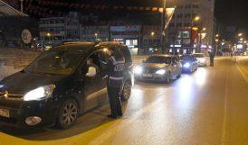 Hafta Sonu Sokak Kısıtlaması Başladı