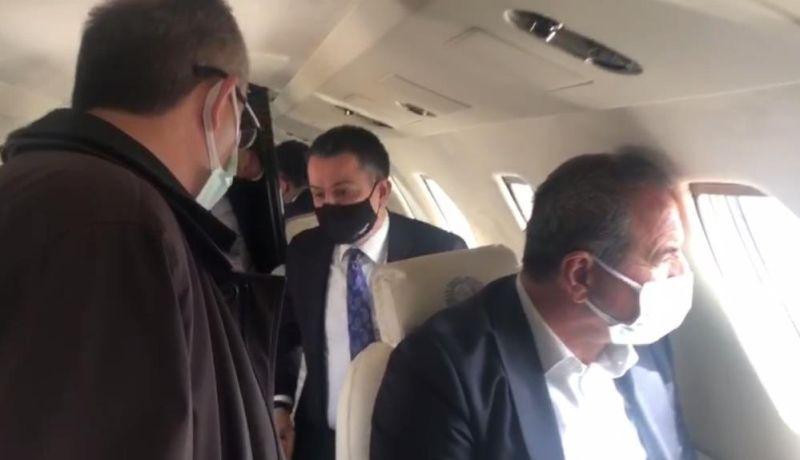 Bakanın Uçağı Malatya'ya Acil İniş Yaptı