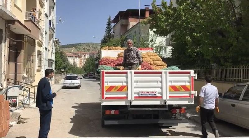 Battalgazi'de İhtiyaçlılara Patates ve Soğan Dağıtıldı