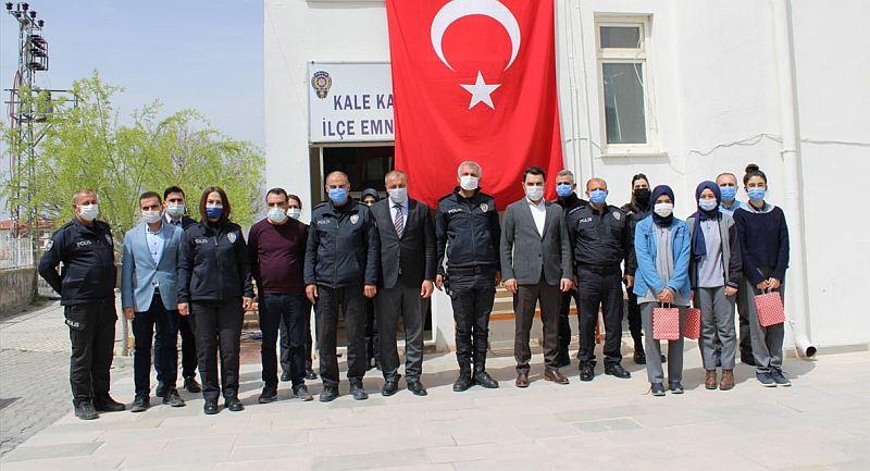 Kale'de Polislere 176. Yıl Kutlama Ziyareti