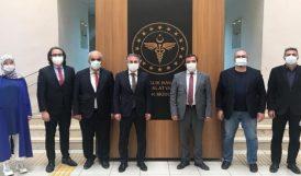 Sağlık Bakanlığı Heyeti Malatya'da