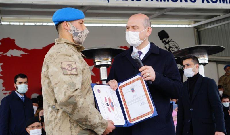Jandarma Kadrosunun Yüzde 84'ü Profesyonel