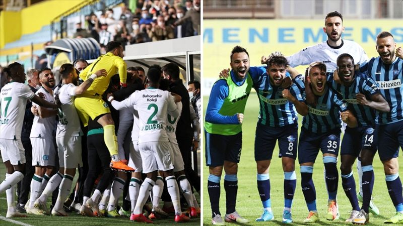 Adana Demirspor ve Giresunspor Süper Ligde