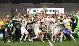 Süper Lige Yükselen Son Takım Altay Oldu