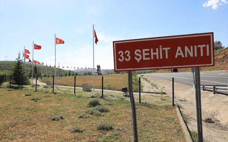 Malatya'dan Giderken PKK'nın Şehit Ettiği 33 Asker Anılıyor