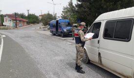 Jandarmadan 164 Kişiye Önlem İhlali Cezası