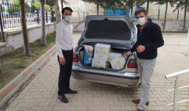 Kuluncak'ta İhtiyaçlılara Gıda Yardımı