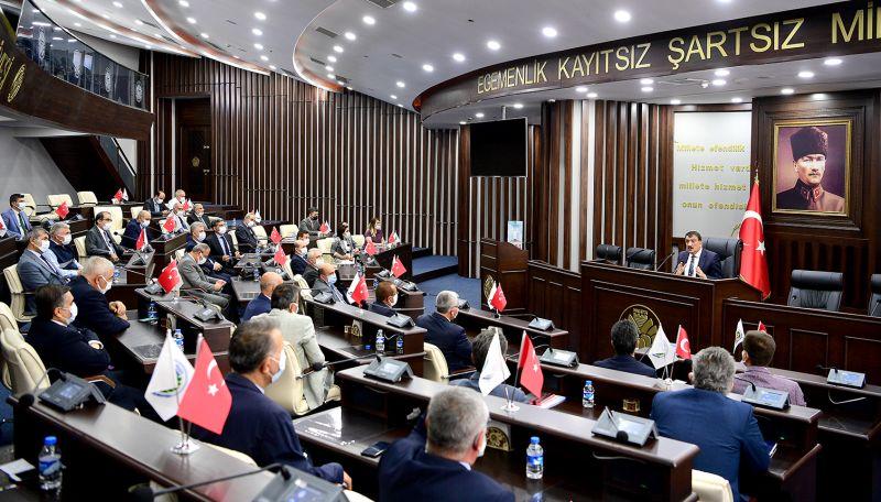 Gürkan, Büyükşehir Personeliyle Bayramlaştı