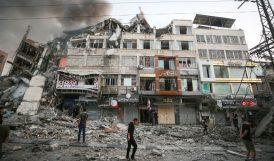 İsrail Saldırılarında Ölen Filistinli Sayısı 65'e Yükseldi
