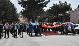 Arapgir'de İsrail'i Protesto Eylemi