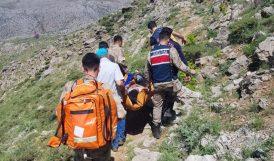 Kayalıklardan Düşerek Ağır Yaralandı