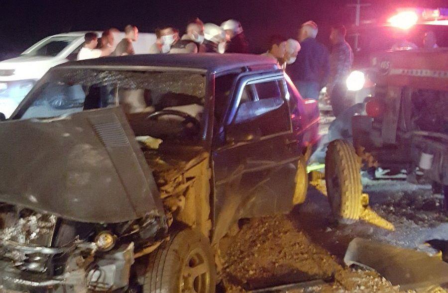 Havalimanı Yolu Üzerinde Kaza: 5 Yaralı