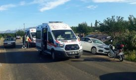 Doğanşehir'deki Kazada 4 Kişi Yaralandı