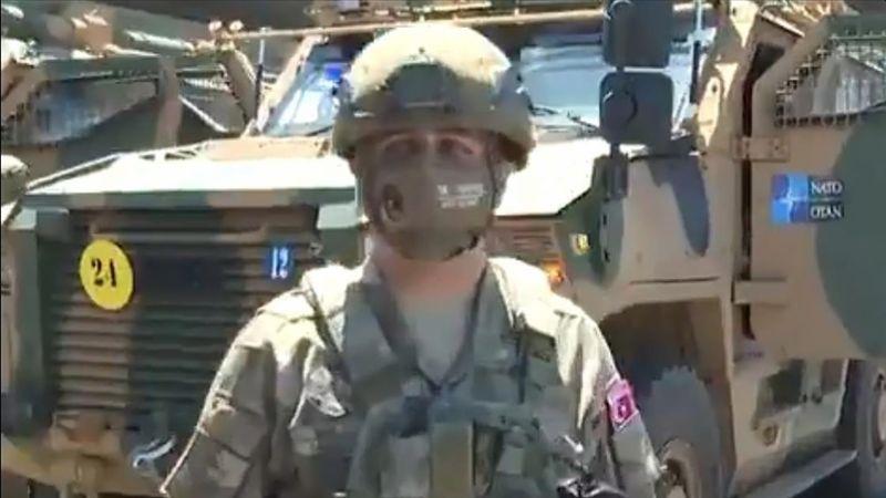 NATO Türk Zırhlı Aracı 'Vuran'ı Tanıttı