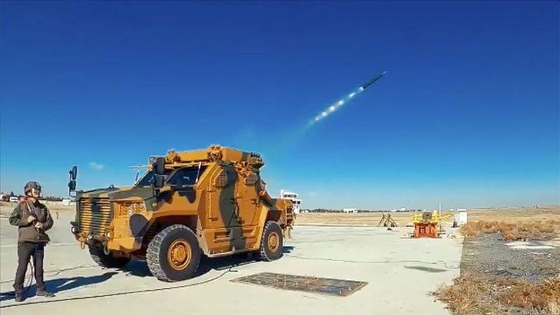 TSK İçin Yeni Roketatar Sistemi