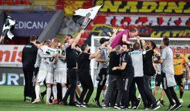 Süper Ligin Şampiyonu Beşiktaş Oldu
