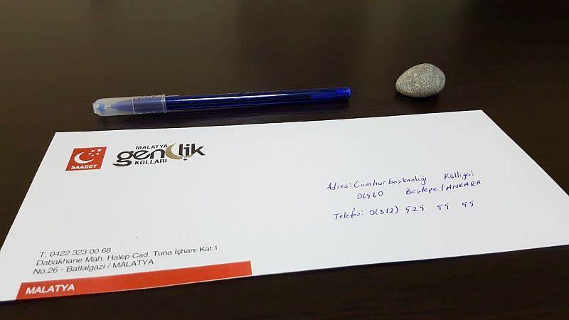 SP'li Başkandan Erdoğan'a Taşlı, Kalemli Mektup