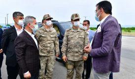 Tüfenkci ve Çınar'dan Jandarmaya Ziyaret
