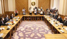 Türk ve Mısır Heyetleri Görüşmeye Başladı