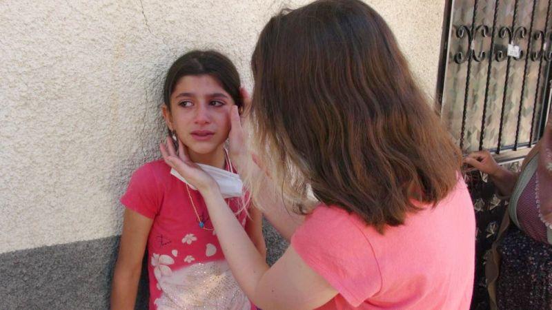 Dedesinin Evi Yandı, Torunu Gözyaşlarına Boğuldu