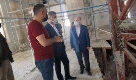 Vali Yeni Cami'deki Onarımı İnceledi