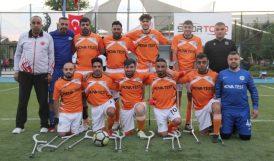 Ampute Futbol Süper Ligi'nde MBB Rakibine Yenildi