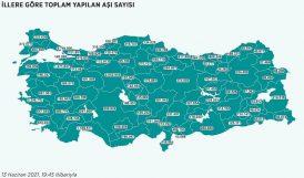 Türkiye'de Nüfusun Yüzde 25'ine 1. Doz Aşı Uygulandı