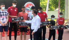 Malatyalı Atletler Bursa'da Yarıştılar