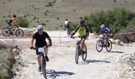 Levent Vadisi Dağ Bisikleti Kupası Yarışları Yapıldı