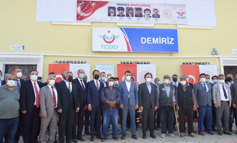 PKK'nın Katlettiği Demiryolu Şehitleri Anıldı