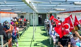 LGS'ye Girecek Öğrencilere Feribot Turu