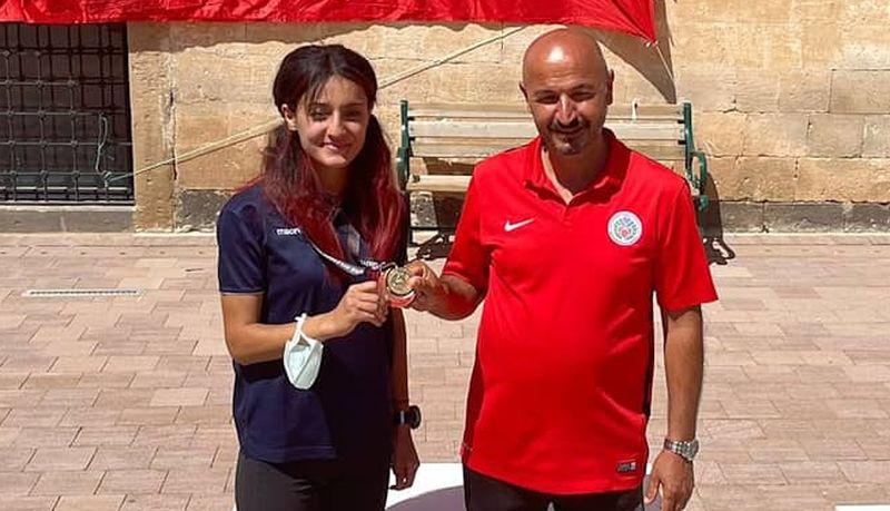 Dağ Krosunda Gamze Nur Türkiye Şampiyonu Oldu