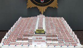 Narkotik, 56 Bin Uyuşturucu Hap Ele Geçirdi