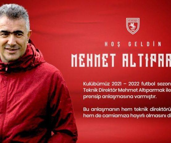 Mehmet Altıparmak Samsun'la Anlaştı