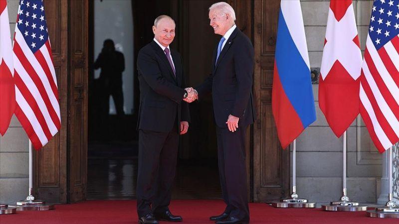 Putin ve Biden'den Ortak Bildiri